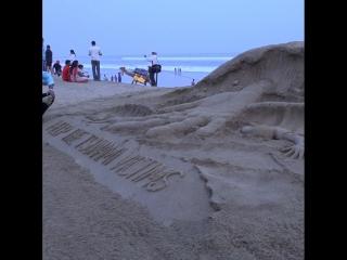 В Индии почтили память жертв землетрясения в Индонезии