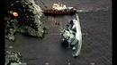 NATO Фрегат ВМС Норвегии HNoMS Helge Ingstad F313 с пробоиной в корме после столкновения с танкером SOLA TS 09.11.2018