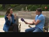 Интервью Наталии Орейро - Пятый канал
