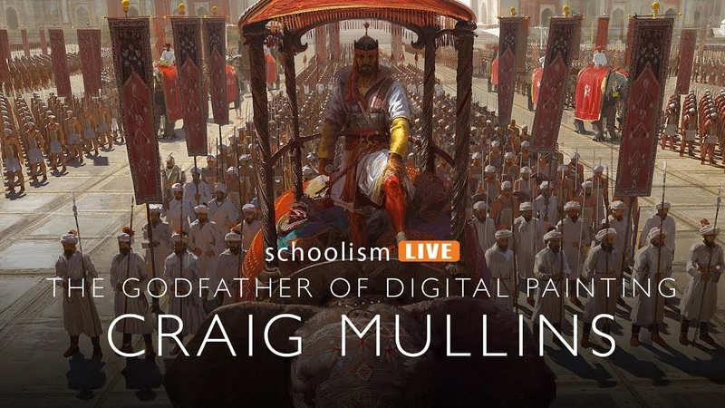 The Godfather of Digital Painting, Craig Mullins
