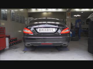 Brabus Sport Exhaust for the Mercedes Benz W218 CLS 350