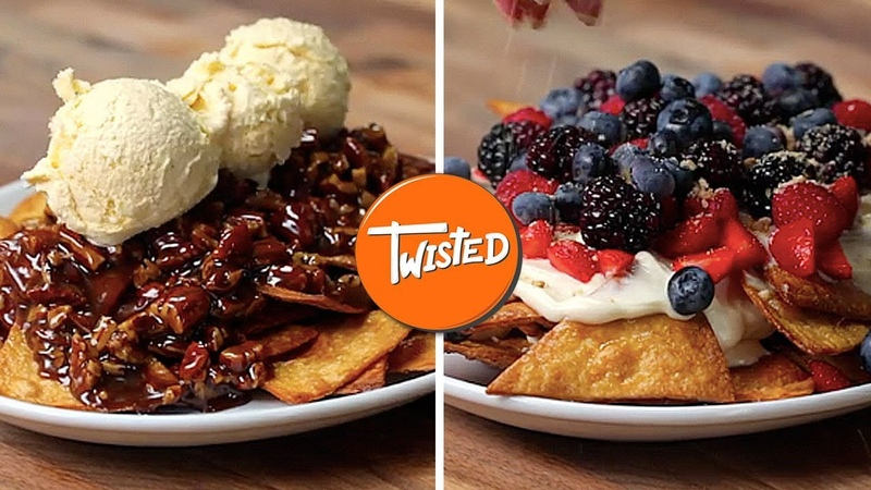 4 Way Dessert Nachos | Easy Desserts To Make | Sweet Treats | Twisted
