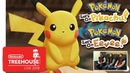 Pokémon: Let's Go, Pikachu! and Pokémon: Let's Go, Eevee! - Gameplay - Nintendo Treehouse: Live