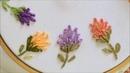 Flores em ponto Margarida