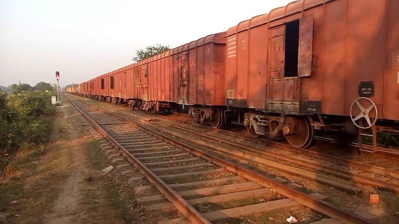 India Bangladesh New Railway Trial.