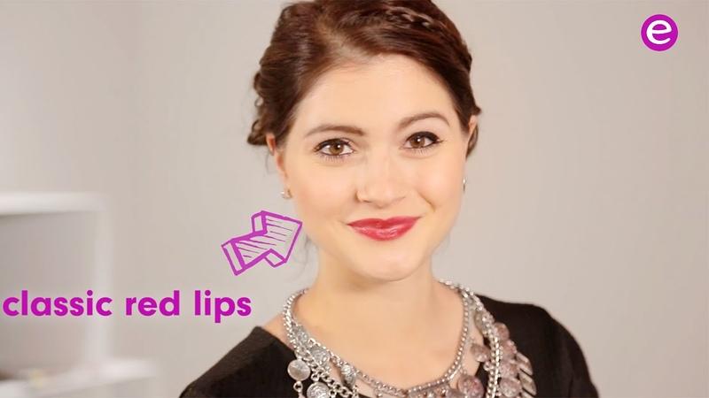 Essence MTV EMA red carpet red lips tutorial
