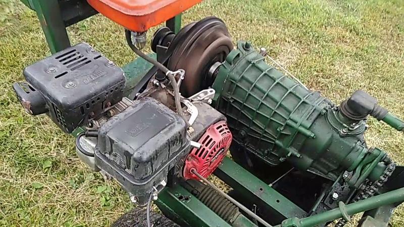 Переделывание сцепления с ременного на полноценное на мини тракторе ЯЩВЕР (Воронежский)