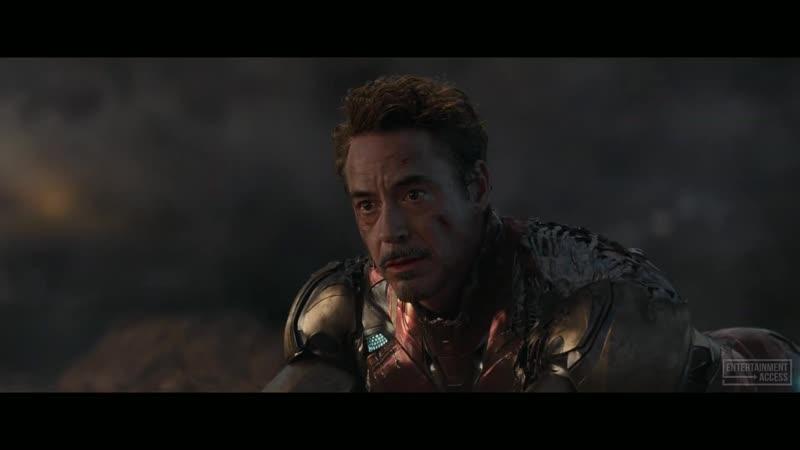 I Am Iron Man Snap Scene 1080р Avengers 4 Endgame 2019