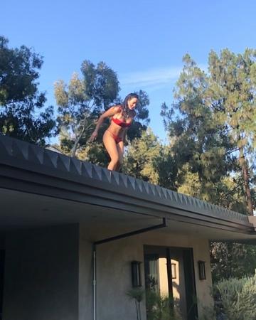 """Natalie Munkie Martinez on Instagram: """"Jumping in the week NFG"""""""