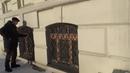 Откопанный первый этаж дома в Барнауле ул Горького 30 Глобальная волна