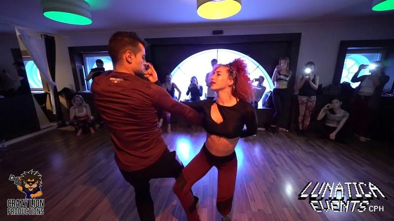 Abdel y Lety Dusk till Dawn DJ Tronky @El Club de la Bachata Sensual y La Salsa Copenhagen