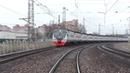 Электропоезд ЭД4М-0486 ЦППК станция Лесной Городок