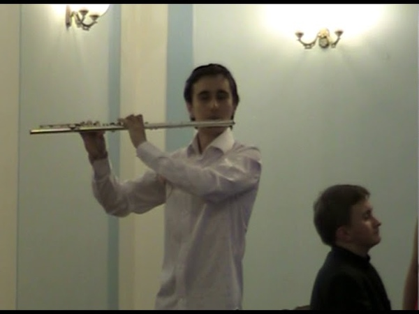 A. Bazzini. La ronde des Lutins. Artem Naumenko - flute, Nikita Volov - piano.