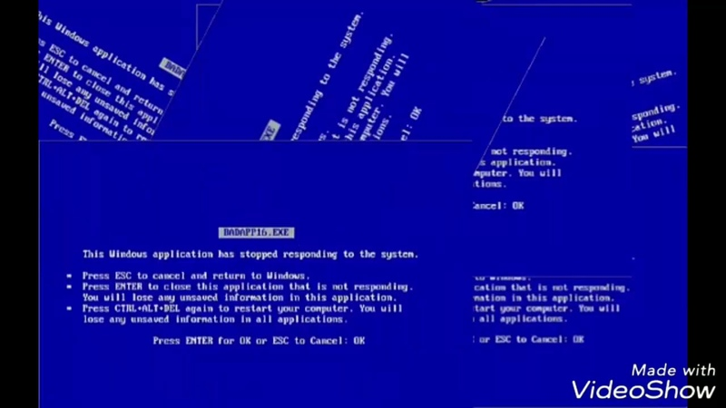 Erro Windows XP : meme remix