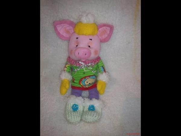 Свинка символ 2019 года своими руками!!