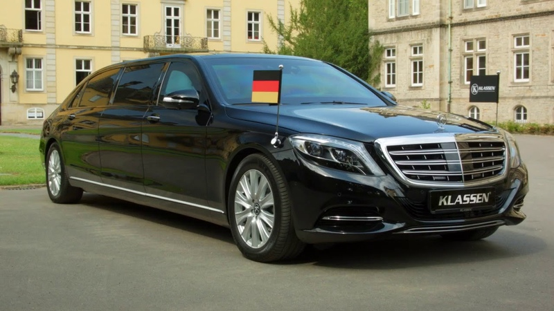 Mercedes Maybach S650 Pullman GUARD ► KLASSEN® Armored MAYBACH VR 10 ► Presidential state car