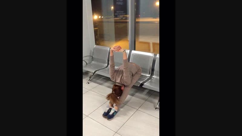 Travel yoga 🧘🏼♀️
