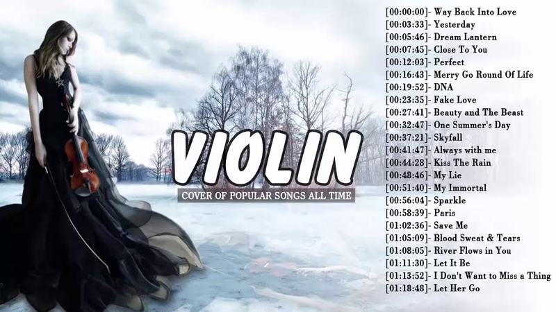 Top Violin Covers of Popular Songs - Best Instrumental Violin Covers All Time
