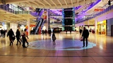 3D-mapping на полу в Торговом Центре Авиапарк