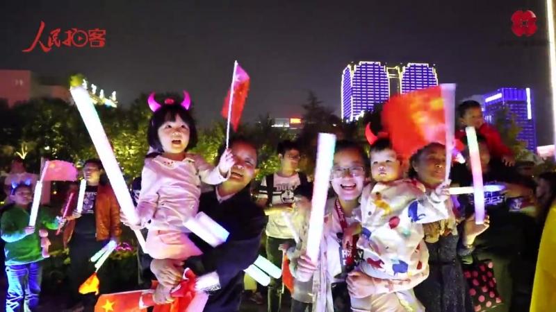 Флешмоб «Песни о Родине» состоялся в городе Сиань