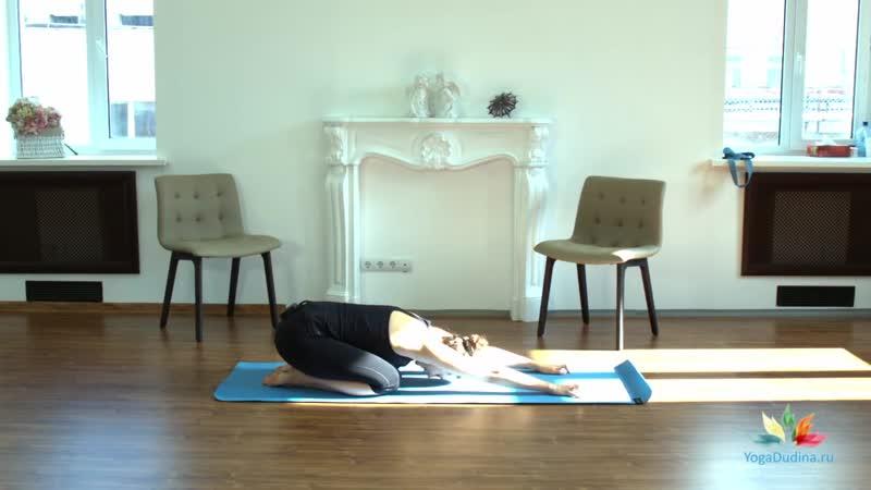 SLs Йога для начинающих Йогатерапия для начинающих с Татьяной Дудиной
