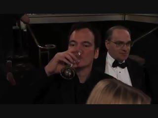 Реакция Квентина Тарантино, когда тотузнает, что победителем становится Бен Аффлек