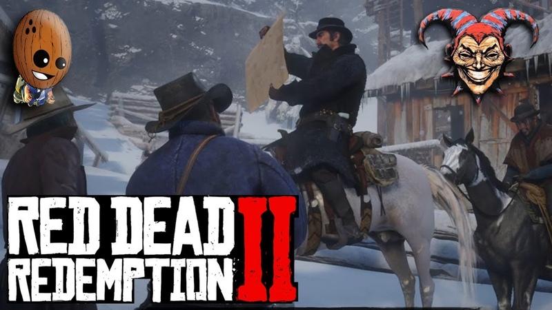 Red Dead Redemption 2 3➤Взять живым, вот на что мне лассо. Охота, олени для банды.