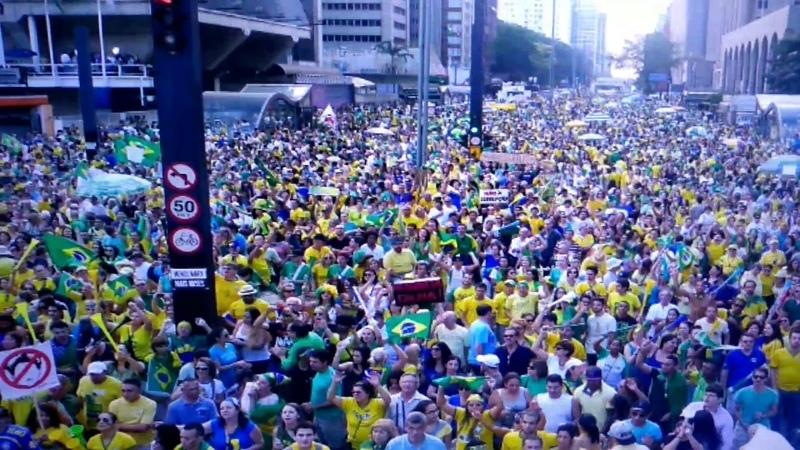 Manifestação pró Bolsonaro Hoje dia 21 de Outubro