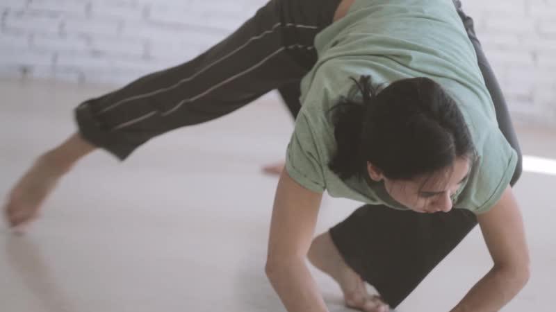 Современный танец студия ВОЗДУХ 1 курс начальный уровень Краснодар