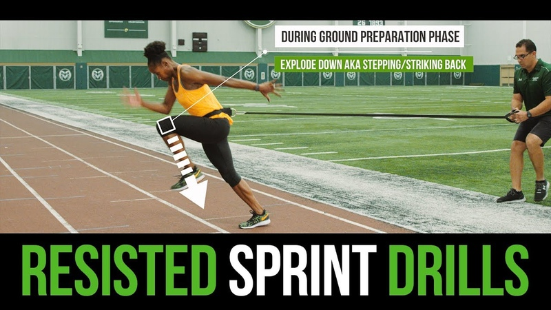 Sprinting Technique - Maximizing Speed with Resisted Sprints