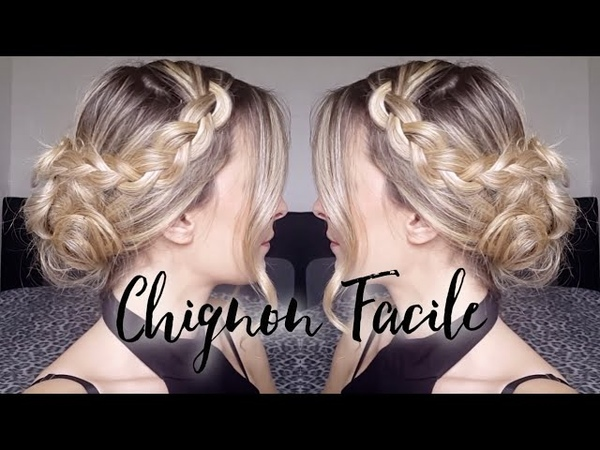Chignon facile par Angelia hairstyle addict