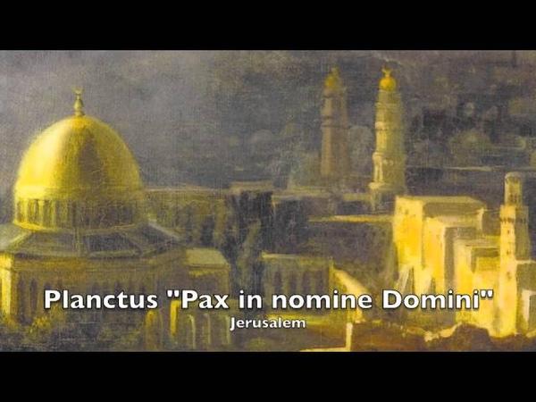 Savall Planctus Pax in nomine Domini instrumental