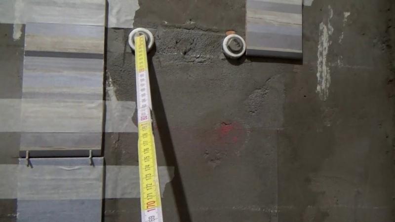 Укладка плитки в ванной Изменяю проект Ремонт трешки