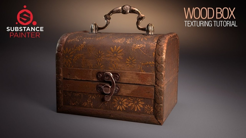 Prop Texturing with Substance Painter