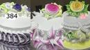 Chocolate cake decorating bettercreme vanilla (384) Học Làm Bánh Kem Đơn Giản Đẹp - Xanh Tím (384)