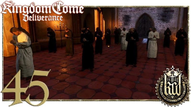 Kingdom Come Deliverance 45 Тайны и тёрки монахов
