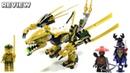 LEGO Ninjago Legacy 70666 Golden Dragon Review