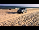 Toyota Rav 4 on sand