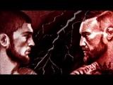 Khabib VS McGregor, UFC 229. Песочная анимация, sandart от Enveora Art Studio