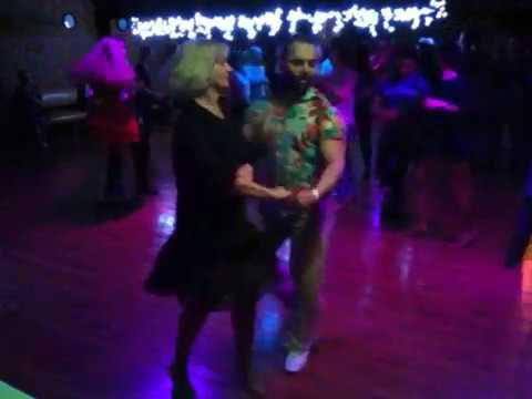 Casino Cubano Party en Salsa Plus. Leonid y Tatiana