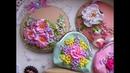 Вышивка лентами Милины Журавлевой Аксессуары и сувениры ручной работы