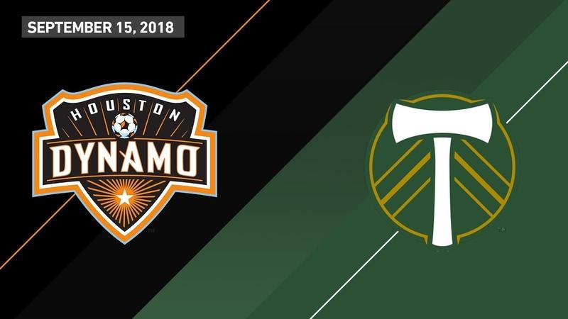 HIGHLIGHTS Houston Dynamo vs Portland Timbers September 15 2018