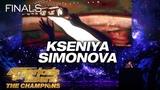 Kseniya Simonova Artist Tells Touching Story Through Sand Art - America's Got Talent The Champions