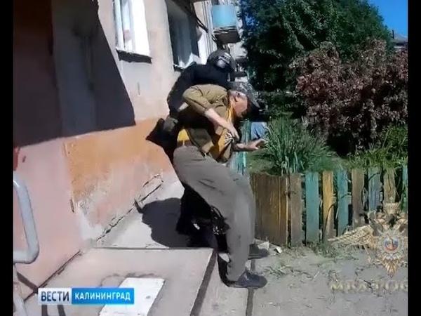 Задержан житель Калининградской области, хранивший в многоквартирном доме взрывчатые вещества
