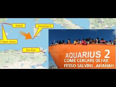 L'AQUARIUS CAMBIA NOME E VA IN non la faremo sbarcare in Italia