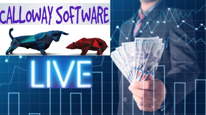 Calloway Software General Trading Session $280 Profit Even With A Losing Trade! Live
