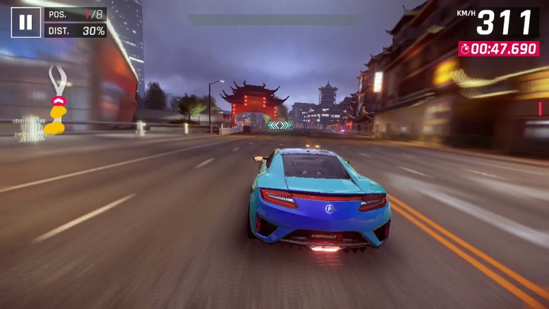Asphalt 9: Legends / Acura 2017 NSX: Encore / 02.28.9xx (5%)