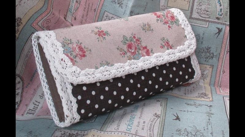 長財布作ってみた&作り方パート1 Making a Handmade Wallet How to Make a Fabric Wallet
