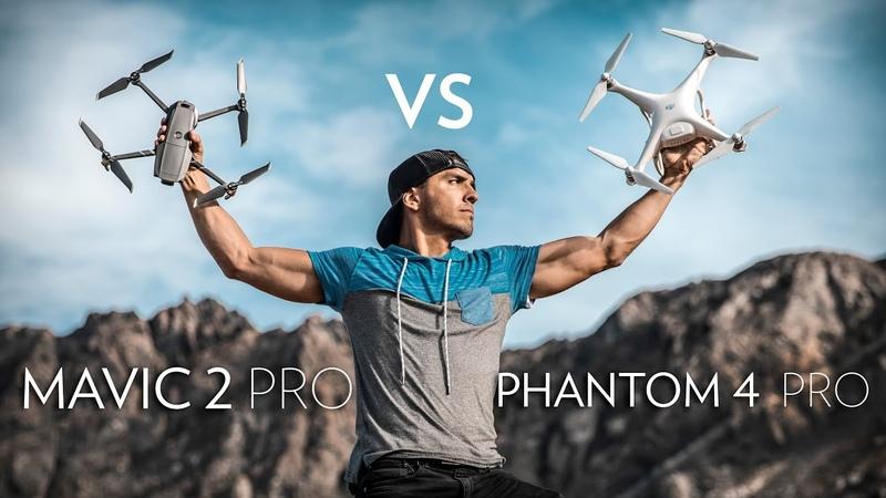 Mavic 2 Pro vs. Phantom 4 Pro In-Depth Comparison
