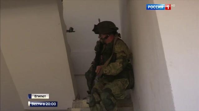 Новости на Россия 24 • Учения в Египте: десант отработал освобождение населенных пунктов от террористов